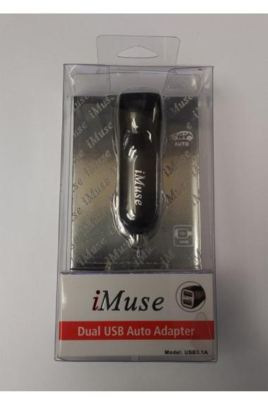 iMuse Dual USB Auto Adapter