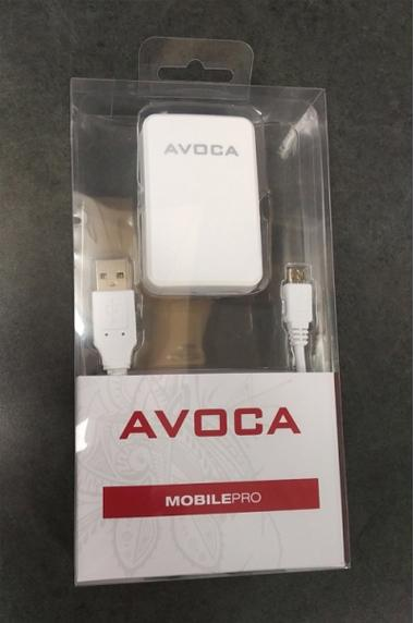 Avoca 2.1A Dual USB Wall Charger