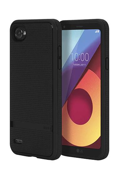 LG Q6 Incipio Rugged Skin Black