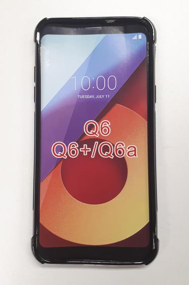 LG Q6 Skin Black