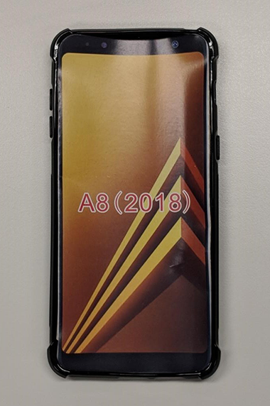 Samsung Galaxy A8 Skin Black