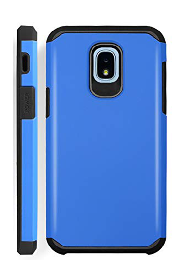 Samsung Galaxy J3 Rugged Skin Blue