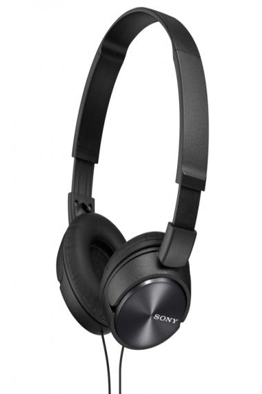 Sony On-Ear Headphones with Mic (MDRZX310AP/B)