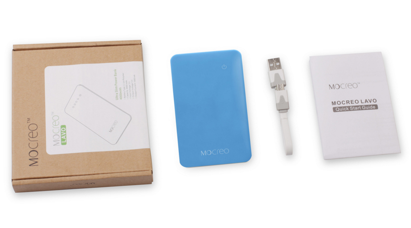 Mocreo Lavo Ultra Slim 4000 mAh Power Bank